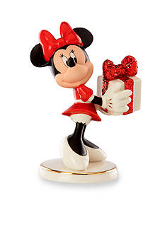 Lenox Wrapped with Love by Minnie Figurine - Online Only
