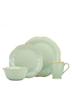 Lenox French Perle Ice Blue 4-Piece Place Setting