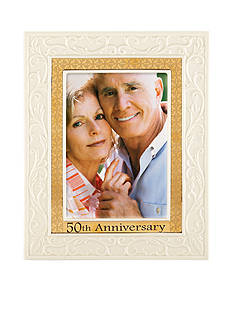 Lenox 50th Anniversary 5x7 Frame - Online Only
