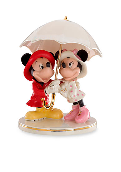 Lenox® Mickey and Minnie Singing in the Rain Figurine