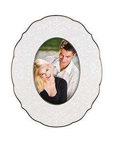 Lenox Opal Innocence Oval 5x7 Frame - Online Only