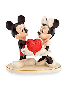 Lenox Sweethearts Forever Mickey & Minnie Figurine - Online Only
