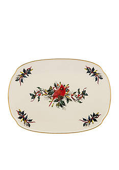 Lenox Winter Greetings Oblong Platter