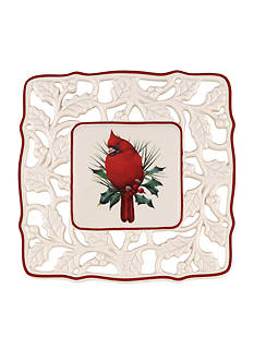 Lenox Winter Greetings Pierced Trivet
