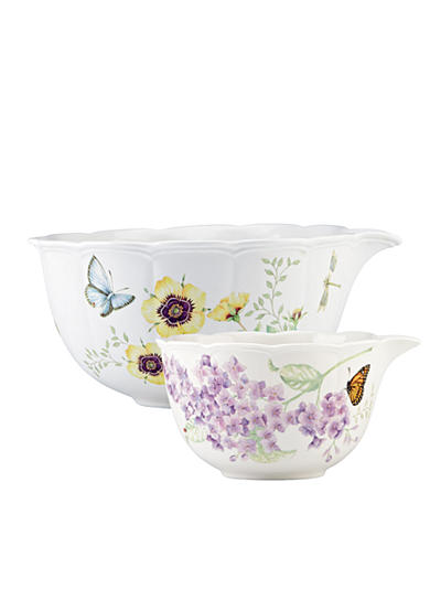 Lenox® Butterfly Meadow Mixing Bowls Set of 2