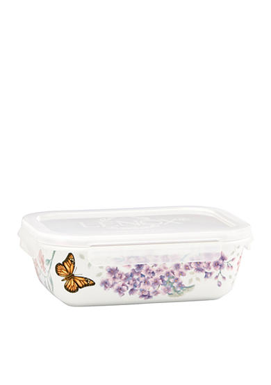 Lenox® Butterfly Meadow Rectangular Serve and Store Container