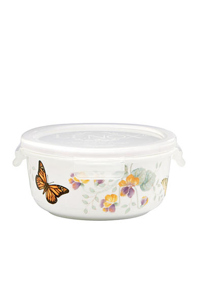 Lenox® Butterfly Meadow Round Serve and Store Container