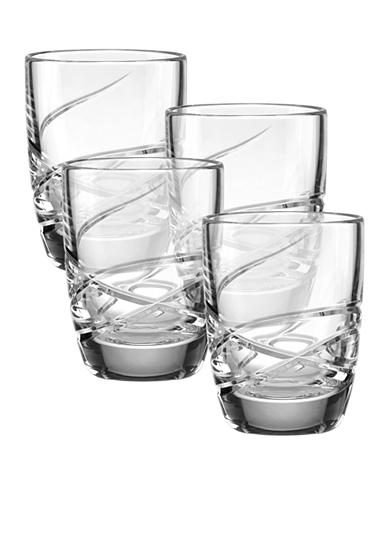 Lenox® Adorn Set of 4 Double Old Fashion Glasses