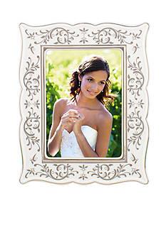 Lenox Opal Innocence Silver 5x7 Frame - Online Only