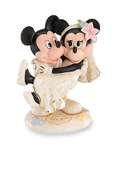 Lenox Mickey & Minnie's Dream Beach Wedding Figurine - Online Only