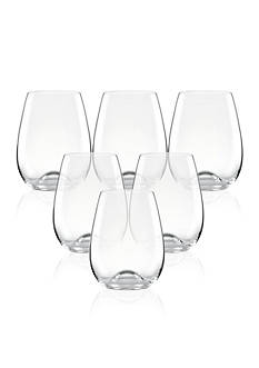 Lenox® Tuscany Classics Stemless Wine Glasses Set of 6