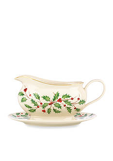 Lenox® Holiday Gravy Boat