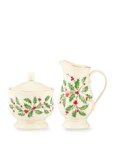 Lenox® Holiday Sugar and Creamer Set