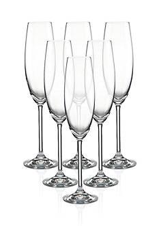 Lenox® Tuscany Classics Flutes Set of 6 Champagne Glasses