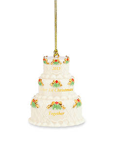 Lenox® 2015 First Christmas Together Cake Ornament