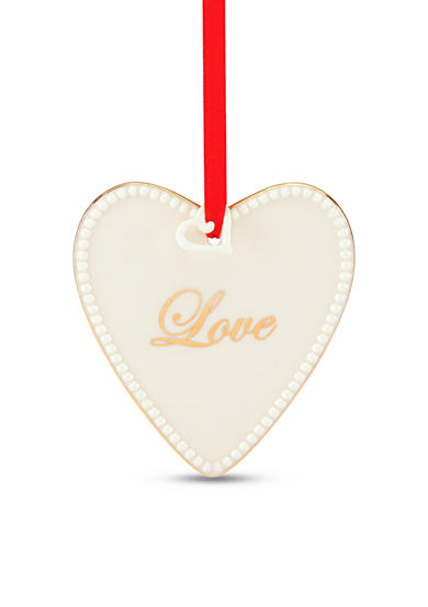 Lenox® Words to Live By - Love Ornament