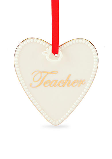 Lenox® Expressions from the Heart Teacher Ornament