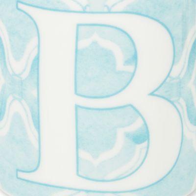 Lenox® For The Home Sale: B Lenox BM INITIAL MUG R - BLUE