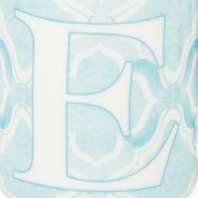 Lenox® For The Home Sale: E Lenox BM INITIAL MUG R - BLUE