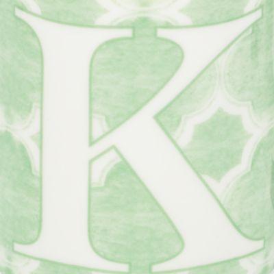 Lenox Dinnerware: K Lenox BM INITIAL MUG R - BLUE
