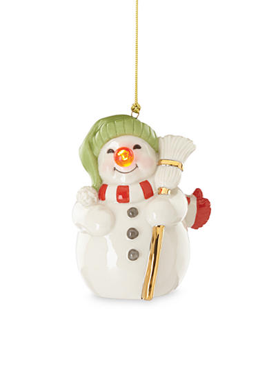 Lenox® Snowman with Blinking Nose
