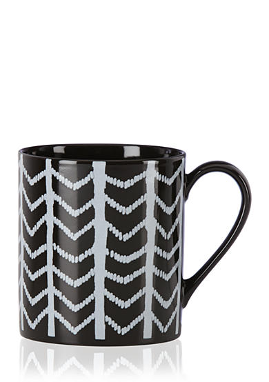 Lenox® Around the Table Black Chevron Mug
