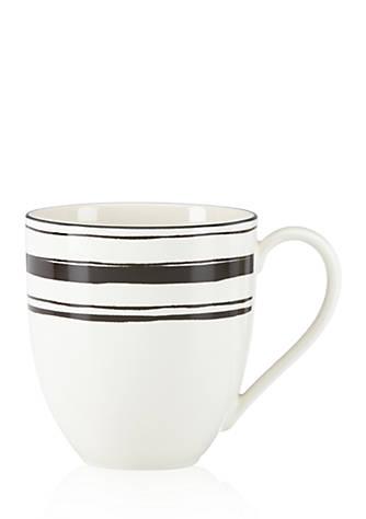 Lenox around the table stripe dinnerware mug belk for Table 6 lenox