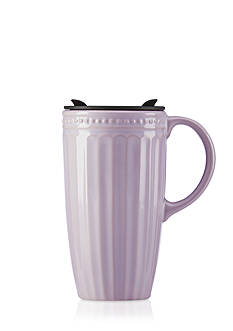 Lenox® French Perle Groove Thermal Travel Mug