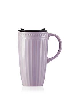 Lenox® French Perle Groove Thermal Travel Mug
