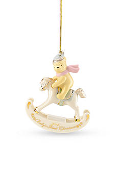 Lenox 2016 Winnie the Pooh Baby's 1st Christmas Ornament