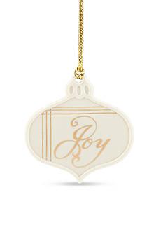 Lenox Joy Charm Ornament