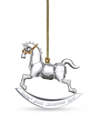 Lenox® 2016 Baby's 1st Christmas Rocking Horse Ornament