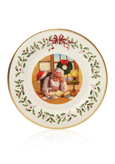 Lenox® 2016 Holiday Collectors Plate (26th edition)