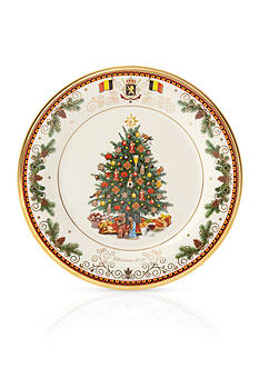 Lenox 2016 Belgium Trees Around The World Plate, 26th Edition