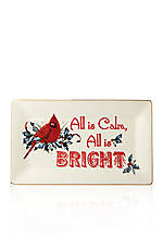 'All is Calm; All is Bright' Tray