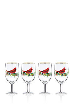 Lenox® Winter Greetings 4-piece Beverage Glass Set