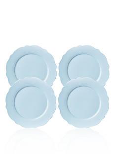 Lenox Butterfly Meadow Blue Dinner Plates, Set of 4