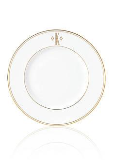 Lenox Federal Gold Monogram Block K Accent Plate