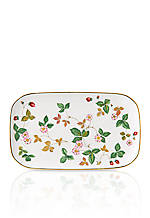 Wild Strawberry Sandwich Tray 11.8-in.