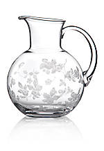 Wild Strawberry Glass Water Carafe 71-oz.