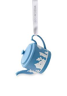 Wedgwood 2016 Iconic Teapot Blue Ornament