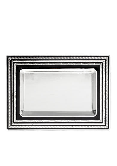 Vera Wang With Love Noir Silver Vanity Tray
