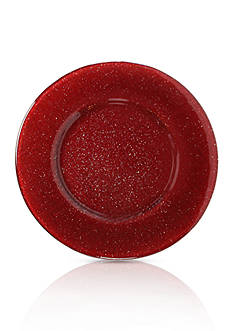 Villeroy & Boch Verona Red Glitter Charger