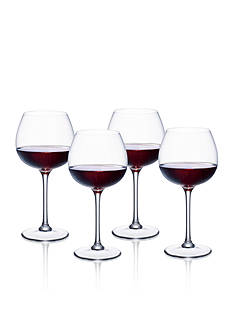 Villeroy & Boch Purismo Set of 4 Full Bodied Red Wine Glasses<br>