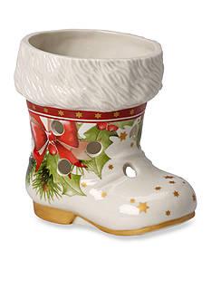 Villeroy & Boch Christmas Light, Santa's Boot Votive Candle