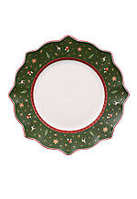 Toy's Delight Dinner Plate Green