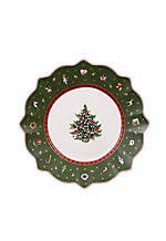 Toy's Delight Salad Plate Green