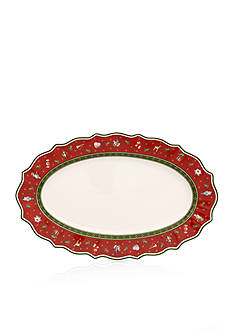 Villeroy & Boch Toy's Delight Medium Oval Platter, New Size!