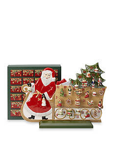 Villeroy & Boch Advent Calendar, Santa and Sleigh 2016