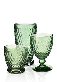 Villeroy & Boch Boston Green Stemware